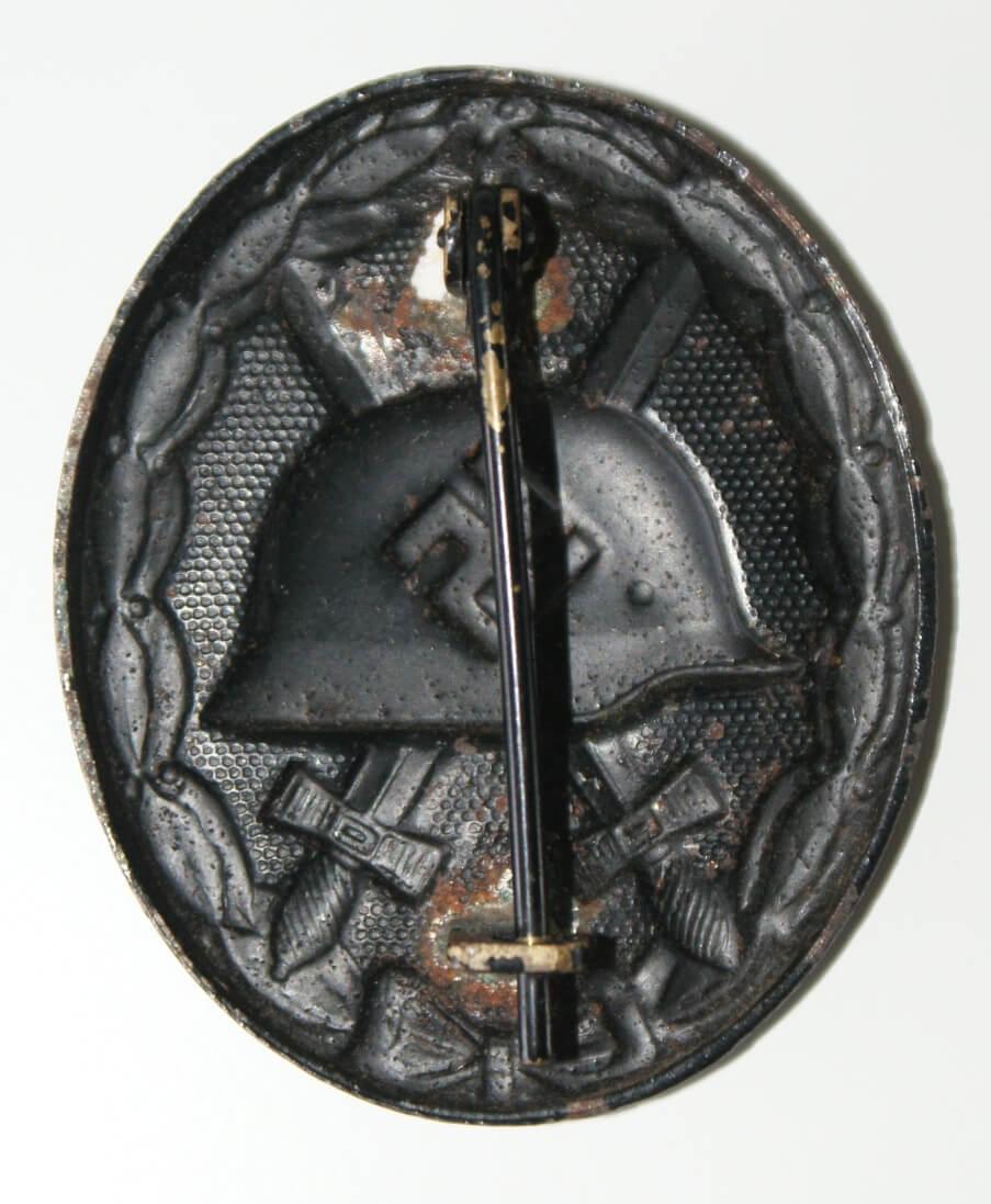 Verwundetenabzeichen zwart Duitse onderscheiding